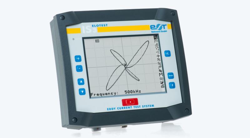 ELOTEST IS3 - Einkanaliges Wirbelstrom-Prüfgerät für automatisierte Prüfaufgaben